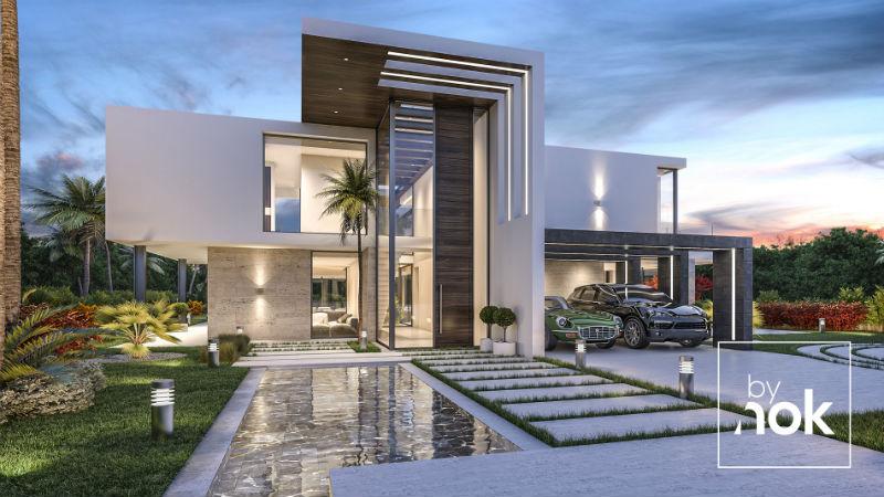 Villa Alegria An Exquisite Bynok Estate Beverly Hills Magazine Facade House House Architecture Design Dream House Exterior