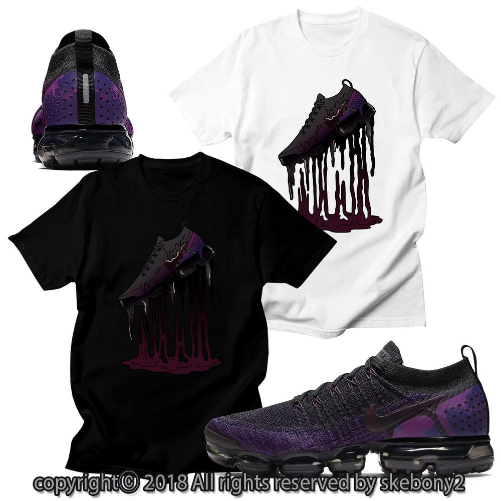 separation shoes 1a84a ba9ba CUSTOM T SHIRT MATCHING STYLE OF Nike Vapormax Flyknit 2 AVF 1-1-1  fashion   clothing  shoes  accessories  mensclothing  shirts (ebay link)