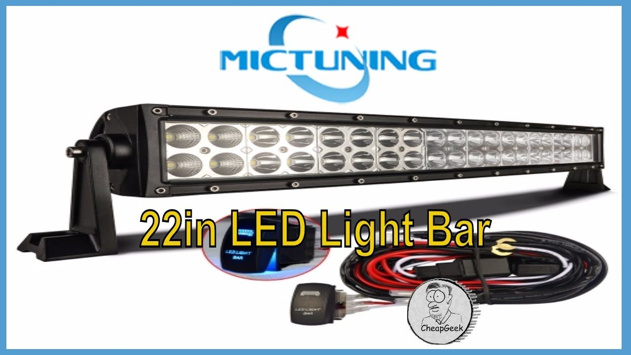 Mictuning 22 inch led light bar review automotive diy and how to mictuning 22 inch led light bar review mozeypictures Images