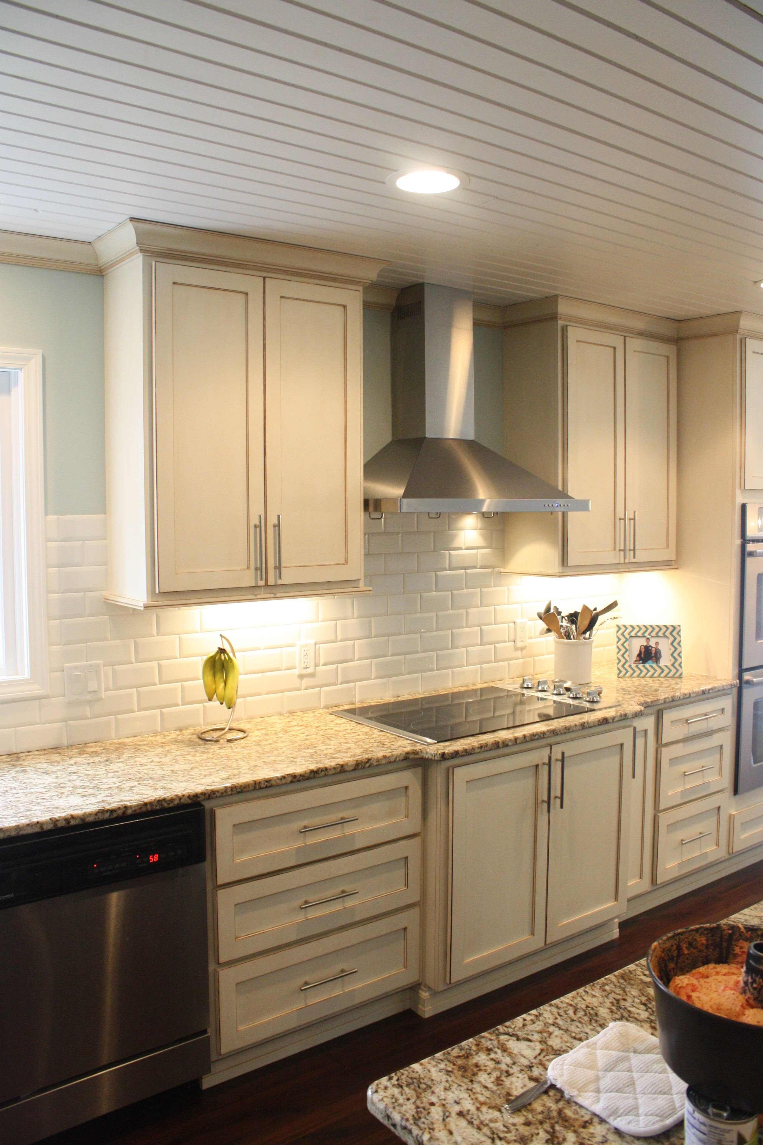 ceiling fan subway kitchen backsplash ideas subway tile backsplash my husband is a hard worker plank
