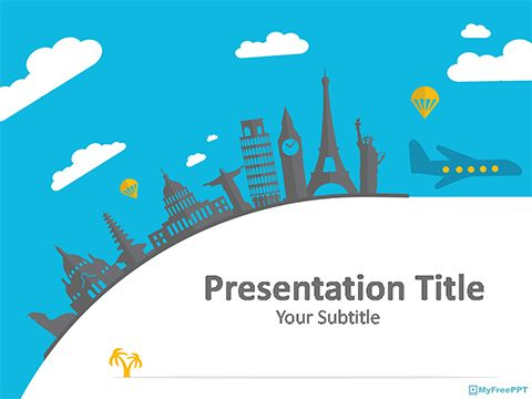 Historical Places Powerpoint Template Powerpoint Free