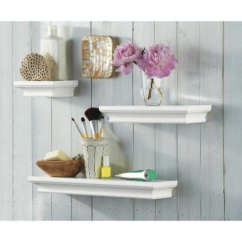 Threshold Floating Shelves Threshold™ Traditional Shelf Set Of 3  Nest  Pinterest