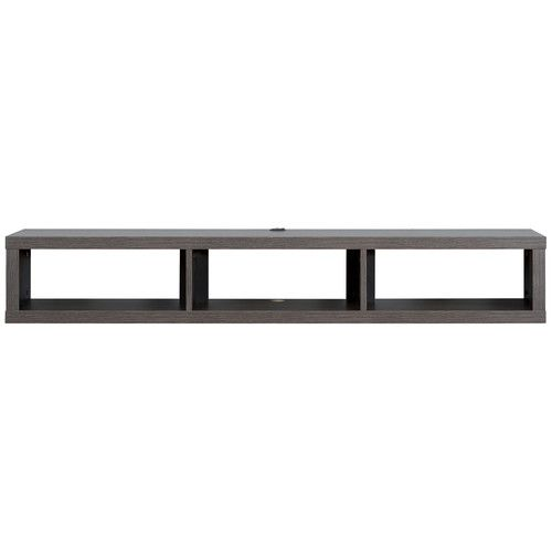 """Found it at AllModern - 60"""" Shallow Wall Mounted TV Component Shelf"""