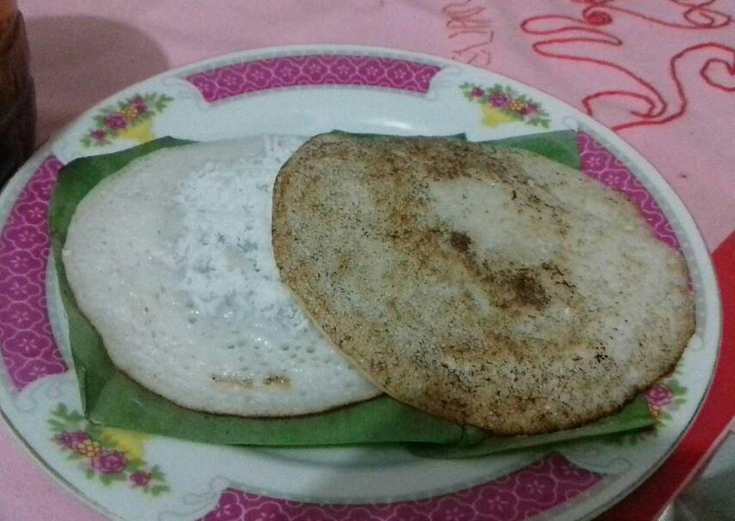 Resep Serabi Tepung Beras Oleh H Na Resep Resep Makanan Makanan Enak