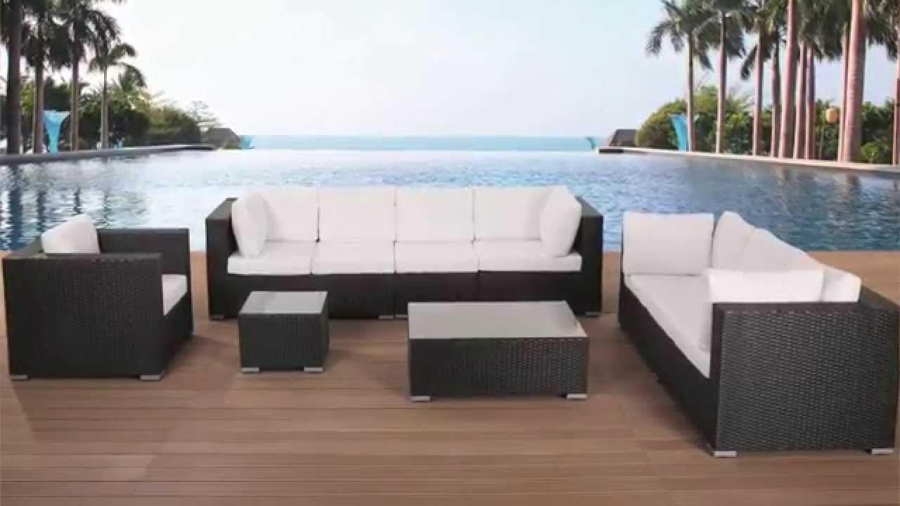 Billig Gartenmöbel Rattan Lounge Günstig