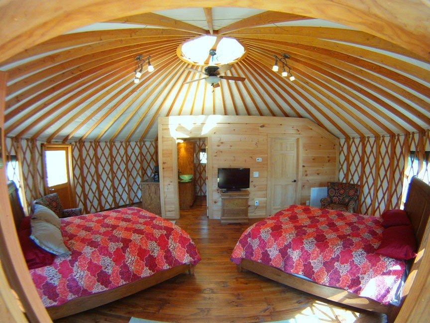 Learn How This Business Owner Built A Yurt Vacation Rental Village