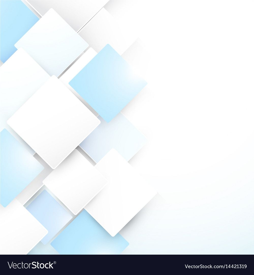 Abstract Blue And White Geometric Background Vector Image Aff