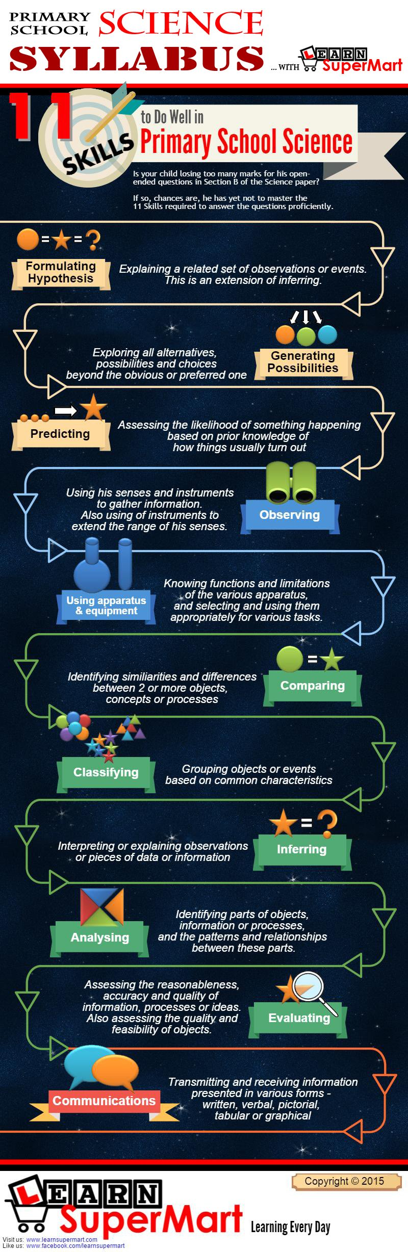 Science Process Infographic