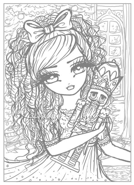 Nutcracker Sketch First Look D Hannah Lynn On Patreon Cute Coloring Pages Colorful Drawings Blank Coloring Pages
