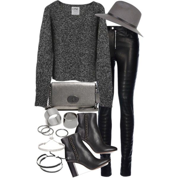 Untitled #18509 by florencia95 on Polyvore featuring polyvore fashion style George J. Love Coach Pieces Links of London Eddie Borgo River Island