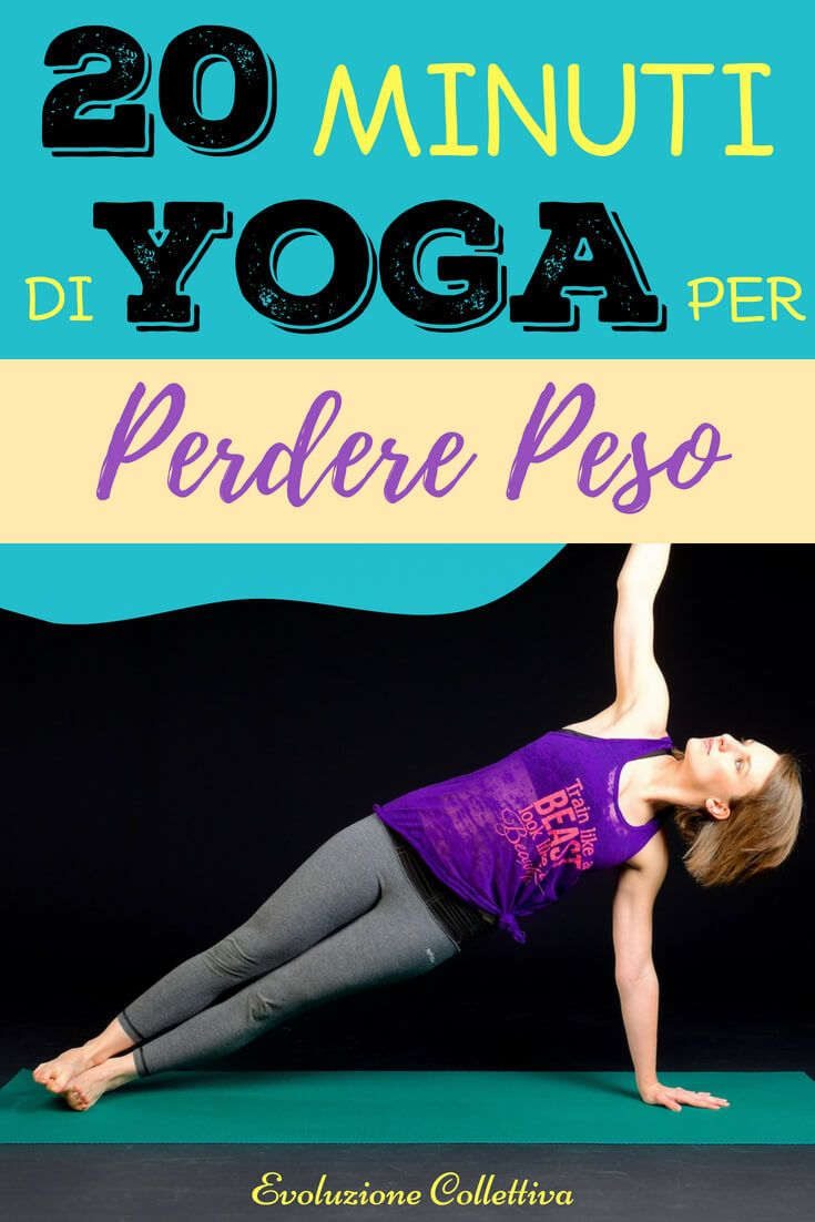 bikram yoga e foto per perdere peso