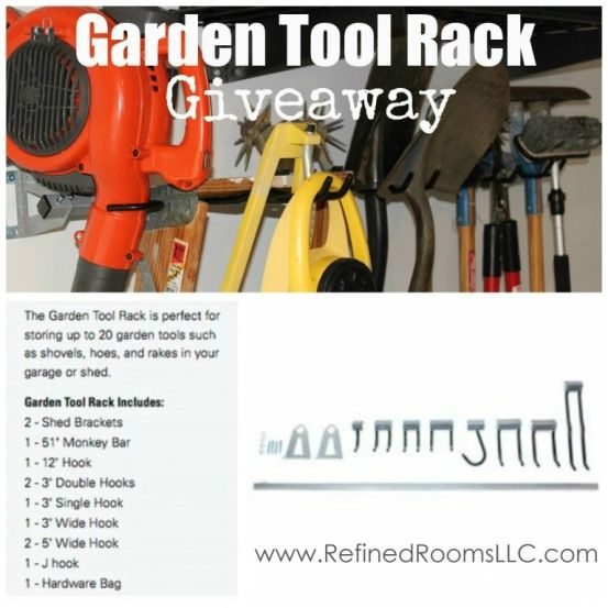 Marvelous Enter To Win A Monkey Bars Garden Tools Storage Rack (ARV $99). The