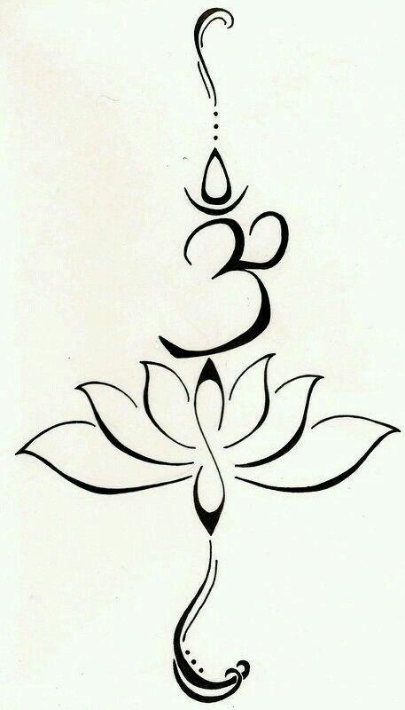 A Lotus Symbol Of New Beginnings And Strength Infinity Tattoos Om Lotus Tattoo Original Tattoos