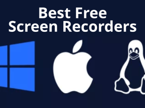 Top 5 Best Free Screen Recorders for Windows, Mac & Linux