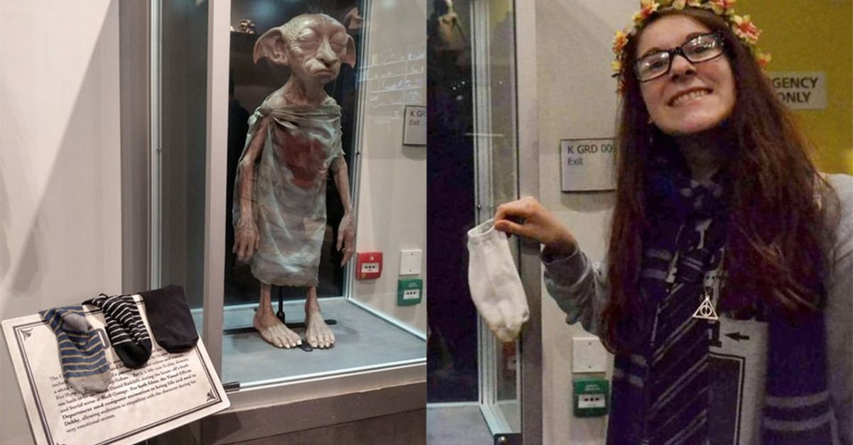 Harry Potter Fans Are Trying To Free A Dobby Statue In London Free Dobby Harry Potter Studio Tour Harry Potter Studios