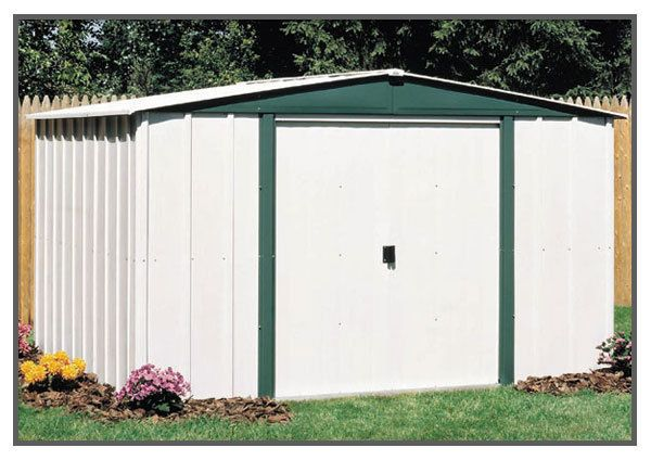 10x6 Metal Storage Shed Backyard House Outdoor Garage Garden Mower Bike Tools Steel Storage Sheds Garden Storage Shed Metal Shed