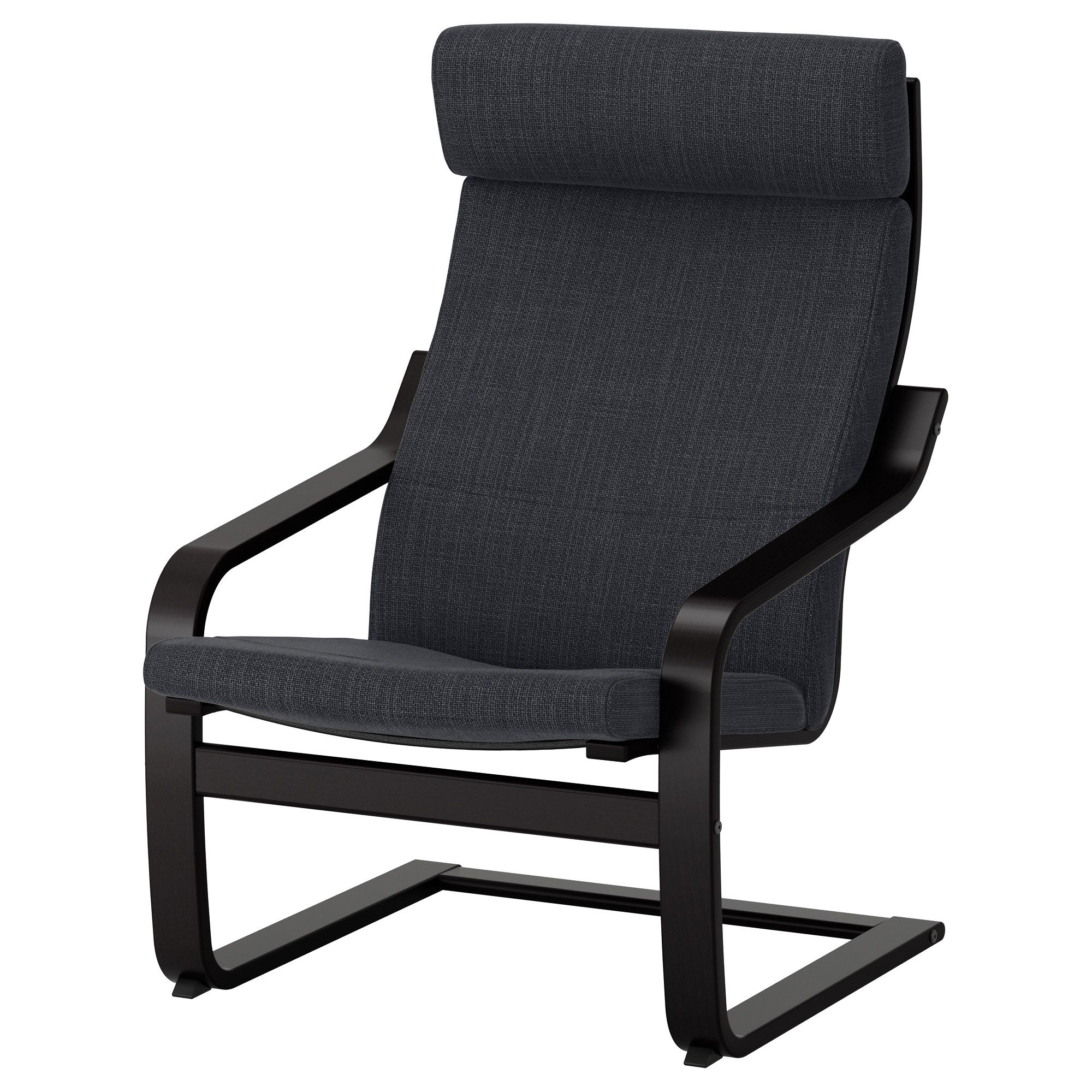 Poäng Ikea Sessel Ikea PoÄng Armchair Black Brown Hillared Anthracite Products