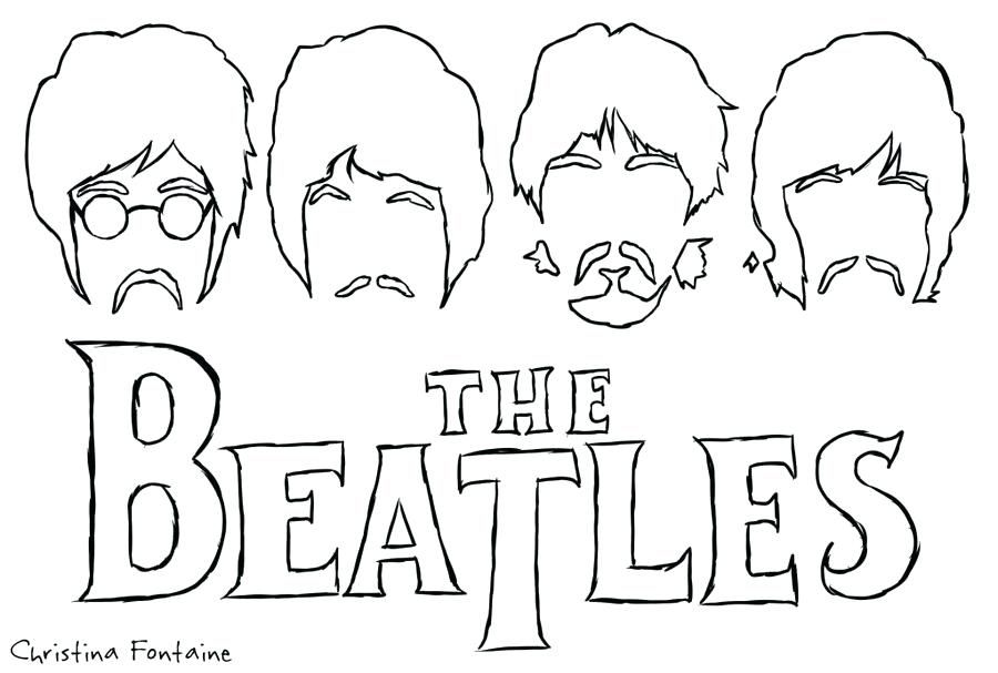 Hey Kids Let S Have Some Fun Coloring The Beatles 1964 Coloring Book Pages Coloring Books Coloring Pages