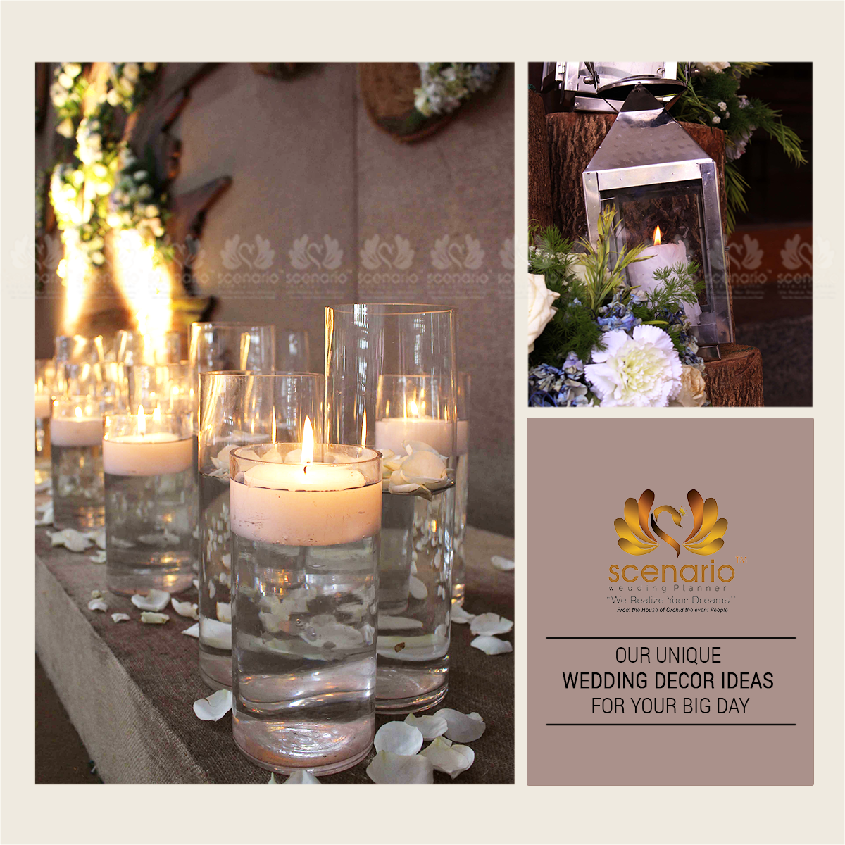 Our Unique Wedding Decor Ideas For Your Day Scenario Planner Contact