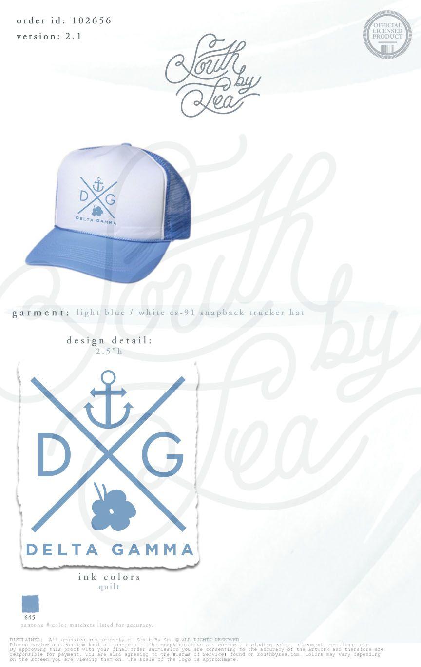 Delta gamma dg anchor hat sorority symbols hat snapback delta gamma dg anchor hat sorority symbols hat snapback south by buycottarizona Gallery