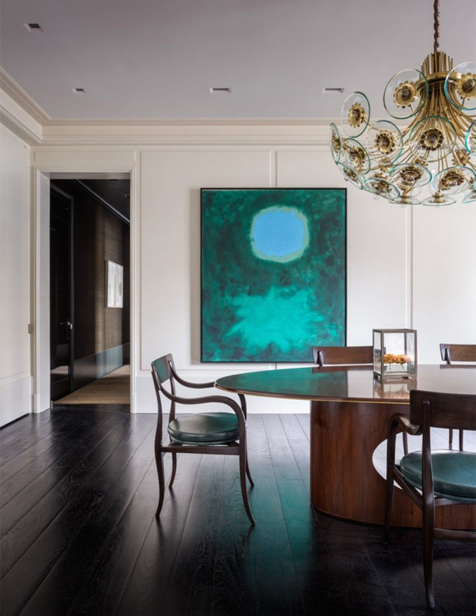 East 70Th Street Apartment Dining Room  Designthad Hayes Inc Simple Apartment Dining Room Design Ideas