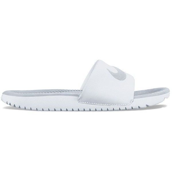 4a718d455d1f Nike Kawa Women s Slide Sandals ( 25) ❤ liked on Polyvore featuring shoes