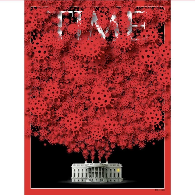 Poisoned By Our President In 2021 Time Magazine Magazine Cover Graphic Design