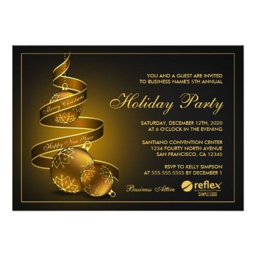 Elegant Corporate Holiday Party