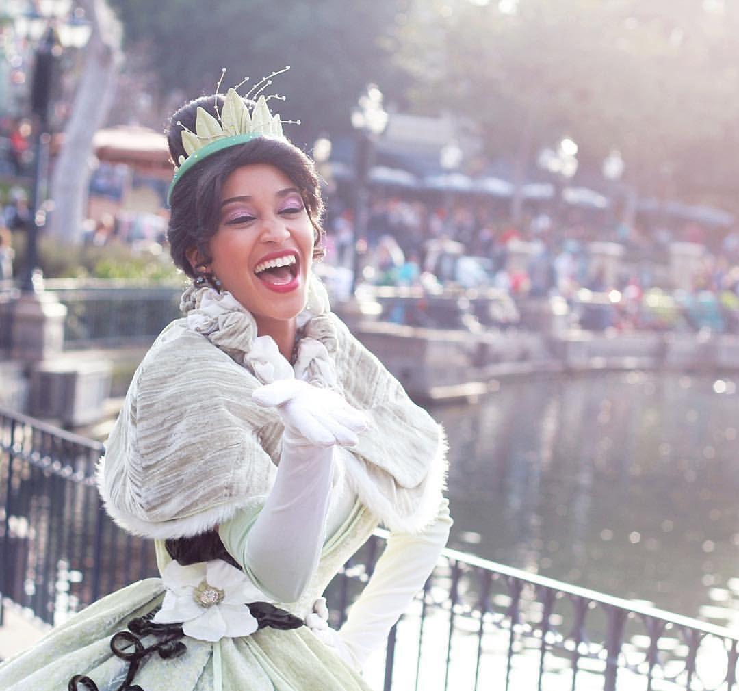 Princess Tiana Makeup: #disneyland #disney #tiana