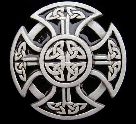 Not A Maltese Cross But Something To Merge With One For Sgian Dubh