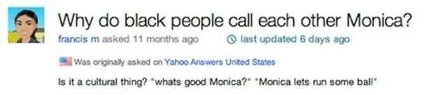 The m-word. | 38 Yahoo Questions That Will Destroy Your Faith In Humanity