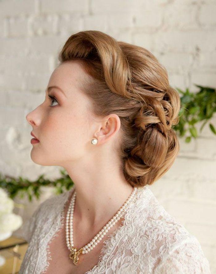17+ Hochzeitsfrisur vintage inspiration