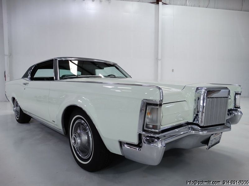 1969 Lincoln Continental Mark Iii 2 Door Coupe Daniel Schmitt