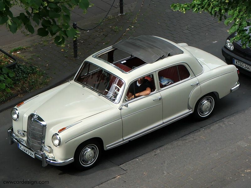 Mercedes benz 220s ponton webasto roof third spaces and for Mercedes benz insurance
