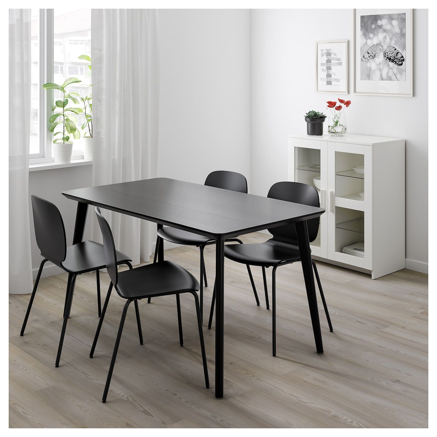 LISABO Tisch schwarz IKEA Österreich