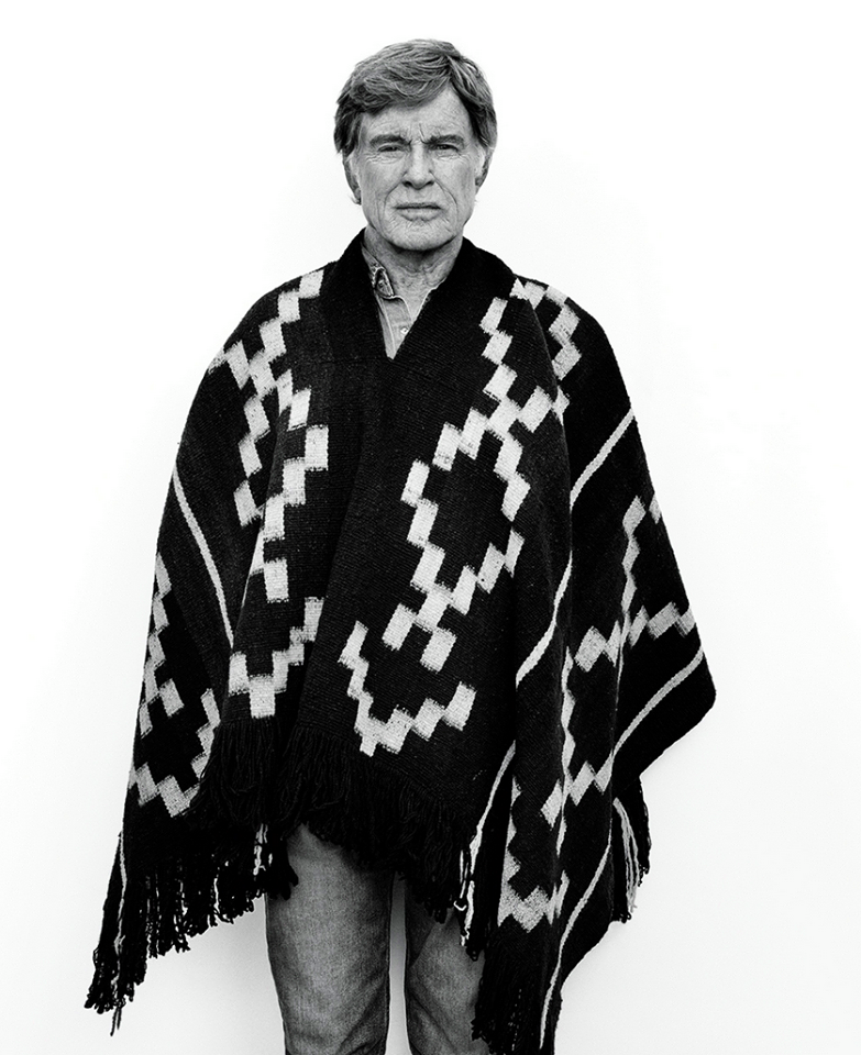 Robert Redford by Mikael Jansson, WSJ September 2015.