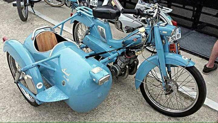 Modeles Side Car Motobecane