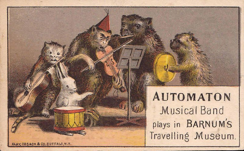 An Example Of P T Barnum Ephemera Musical Band Illustration Art A Dissertation Upon Roast Pig Summary