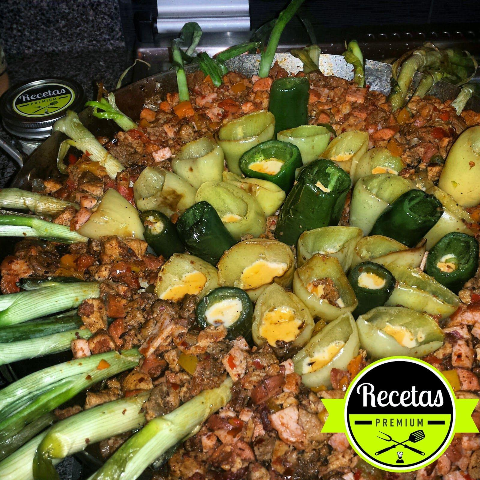 Recetas premium discada discada pinterest comida for Ingredientes para comida