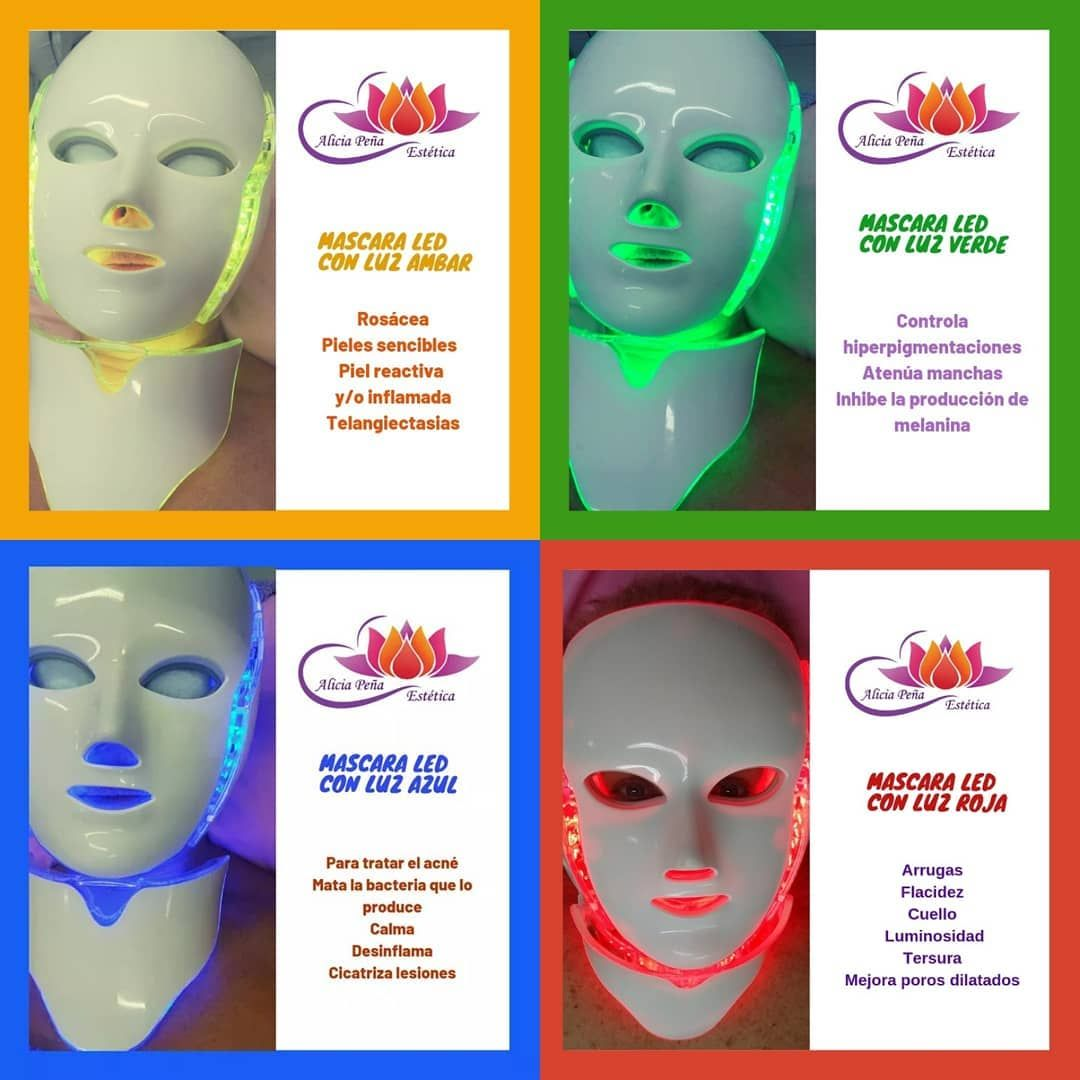 Fototerapia Lumínica Con Máscara Led Asi Como La Luz Solar Activa La Síntesis De Clorofila En Las Plantas Las Luces Led De Mascaras Led Fototerapia Rosácea