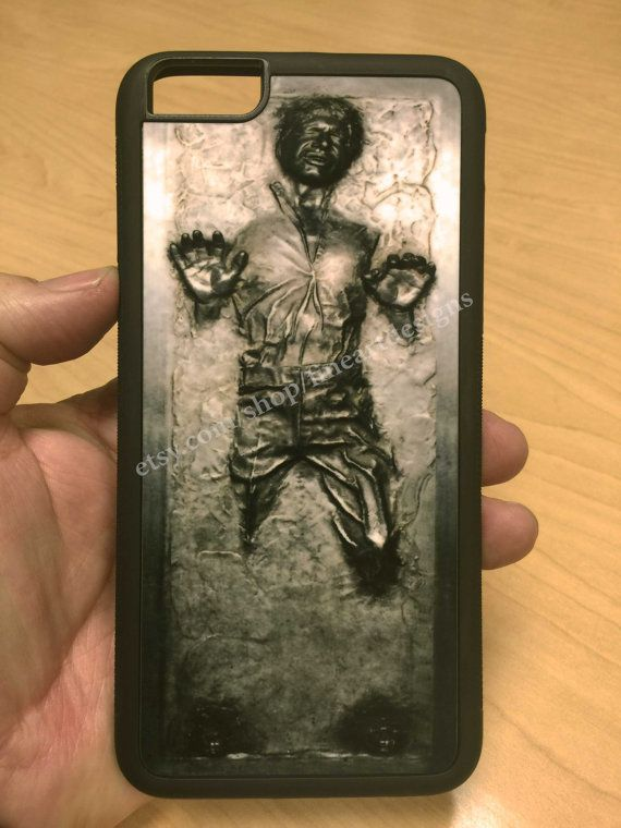 reputable site f2cc6 819a3 Star Wars Han Solo Frozen in Carbonite iPhone 8/7/6 Case 8+/7+/6+ ...