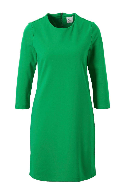 03f6cece3e4 ONLY jurk met zijstreep #wehkamp #jurk #only #groen #streep #dames # damesmode #dameskleding #damesfashion