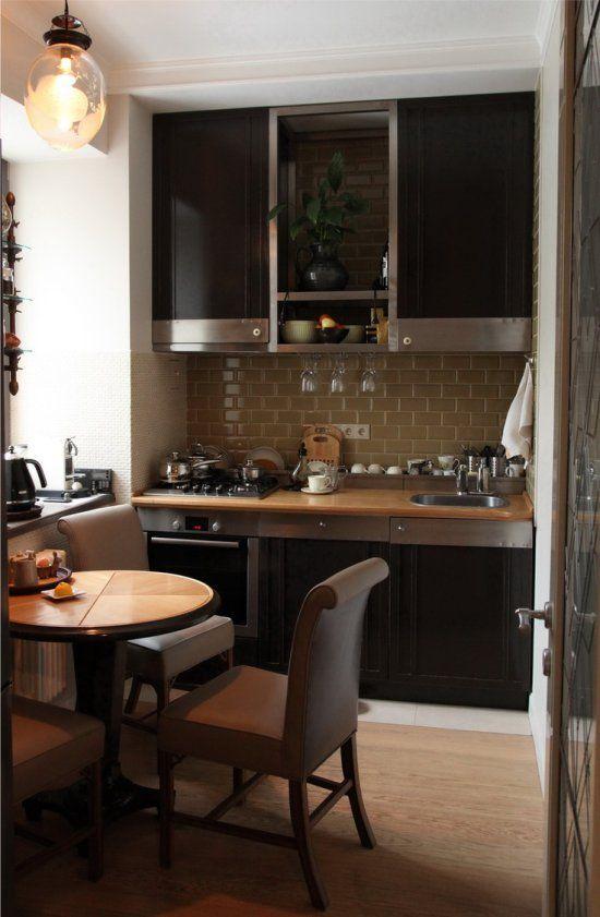 Дизайн для маленькой кухни планировка