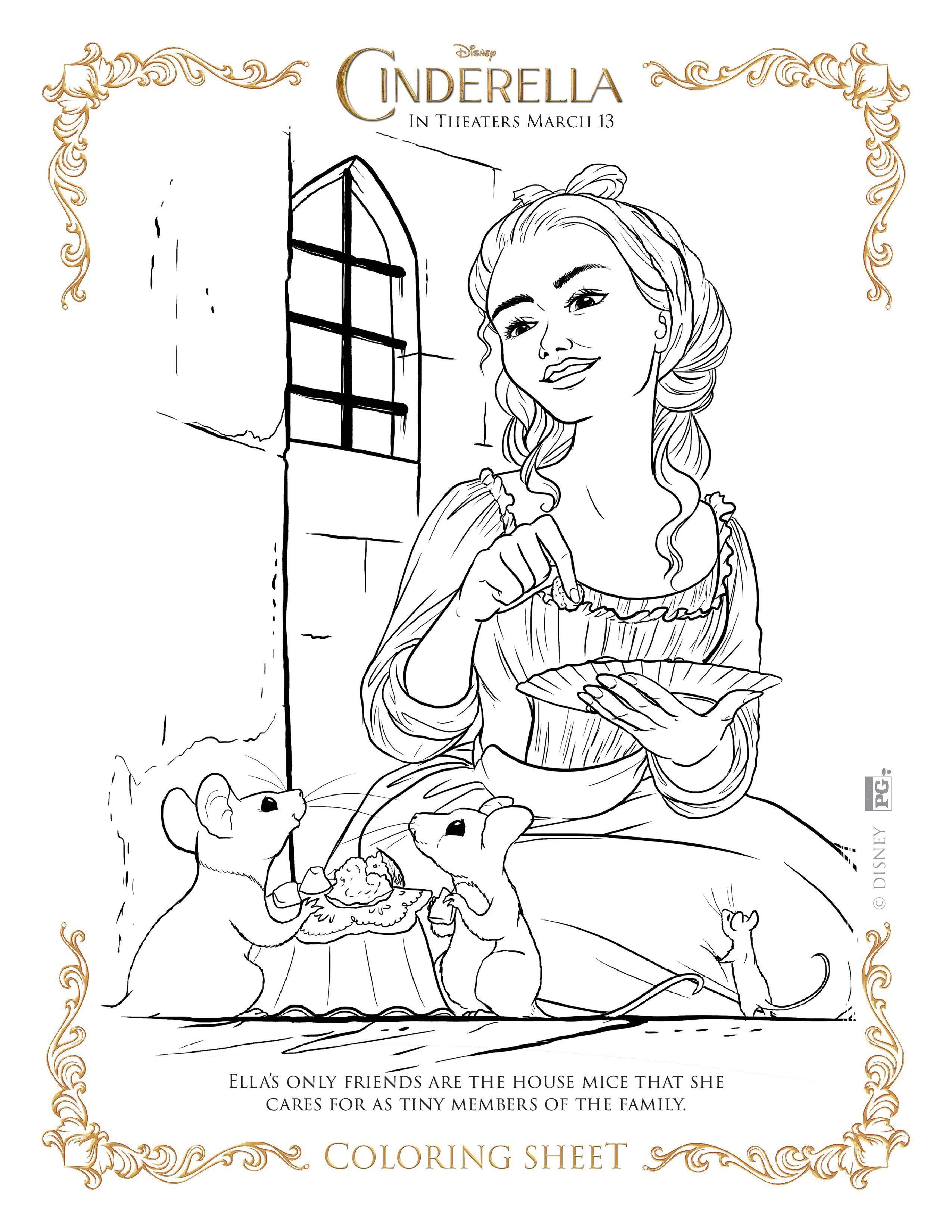67 Elegant Photos Of Cinderella Coloring Pages