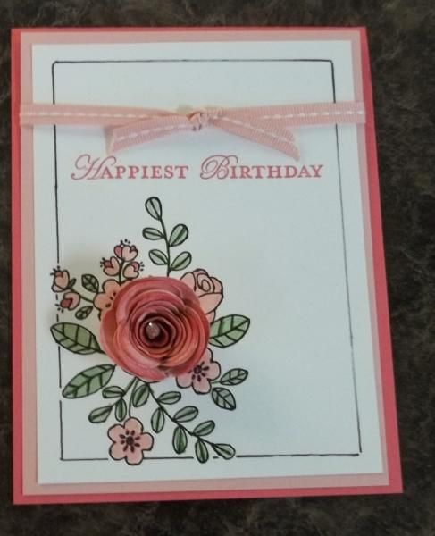 Spiral Flower Die and so very grateful - Stampin Up 2014 Occasions Catalogue