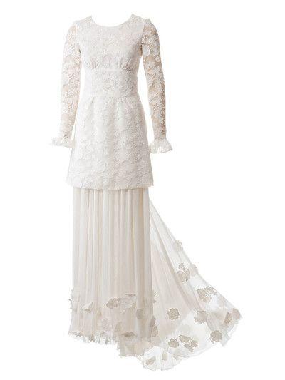 Burda Style - Schnittmuster. Hochzeitskleid mit Mini-Spitzenkleid ...