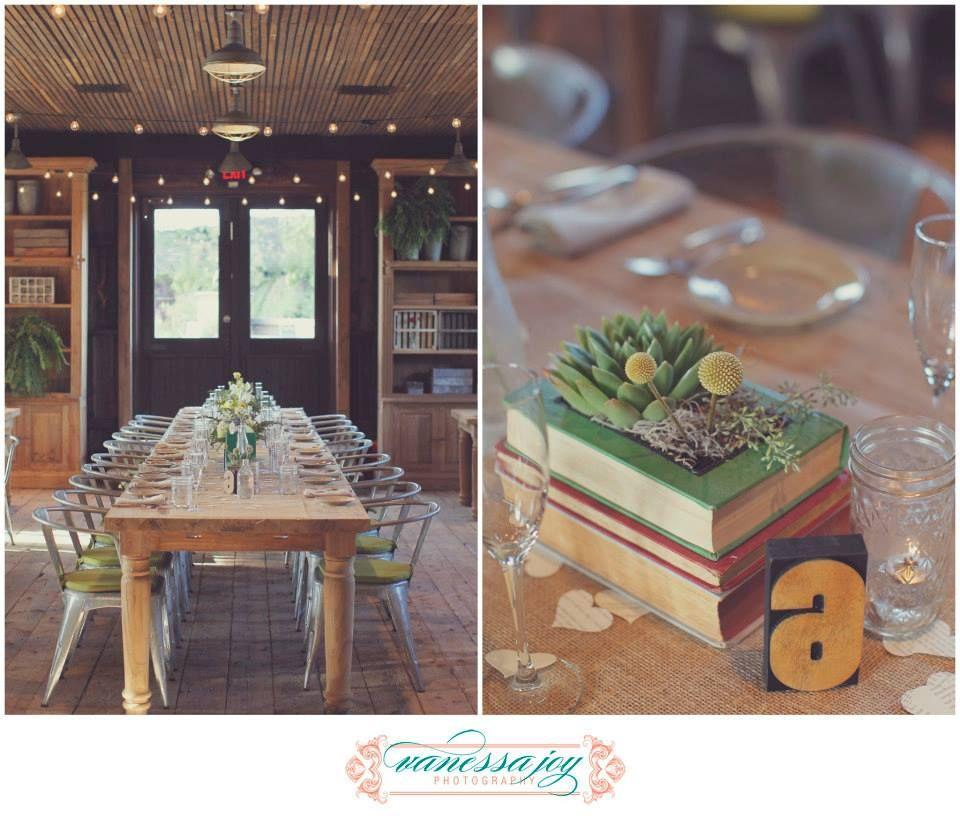 Rustic wedding reception details, Terrain at Styers, NJ Wedding Photographer, Vanessa Joy Photography
