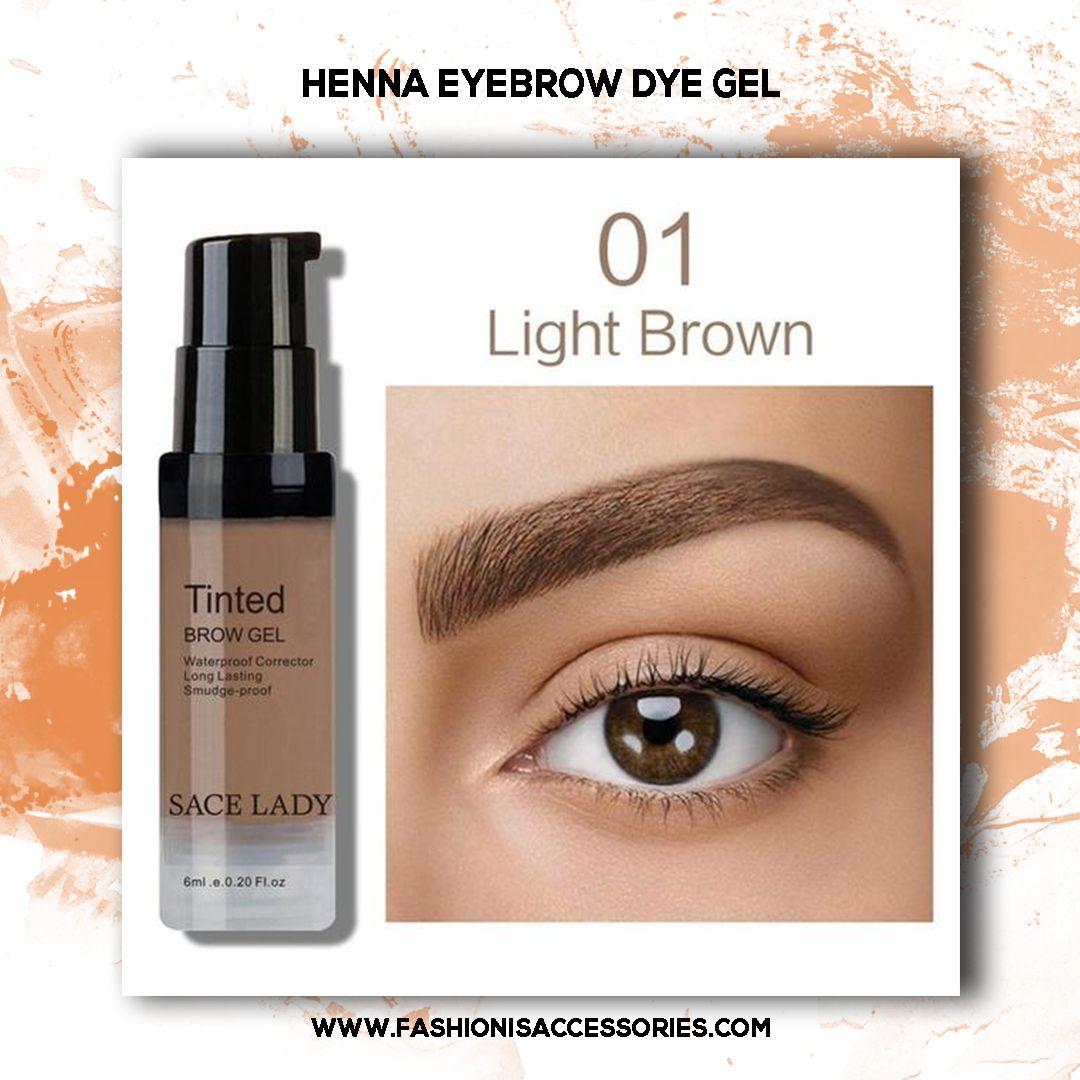 Henna Eyebrow Dye Gel Eyeliner Henna Eyebrows Eyebrows Makeup
