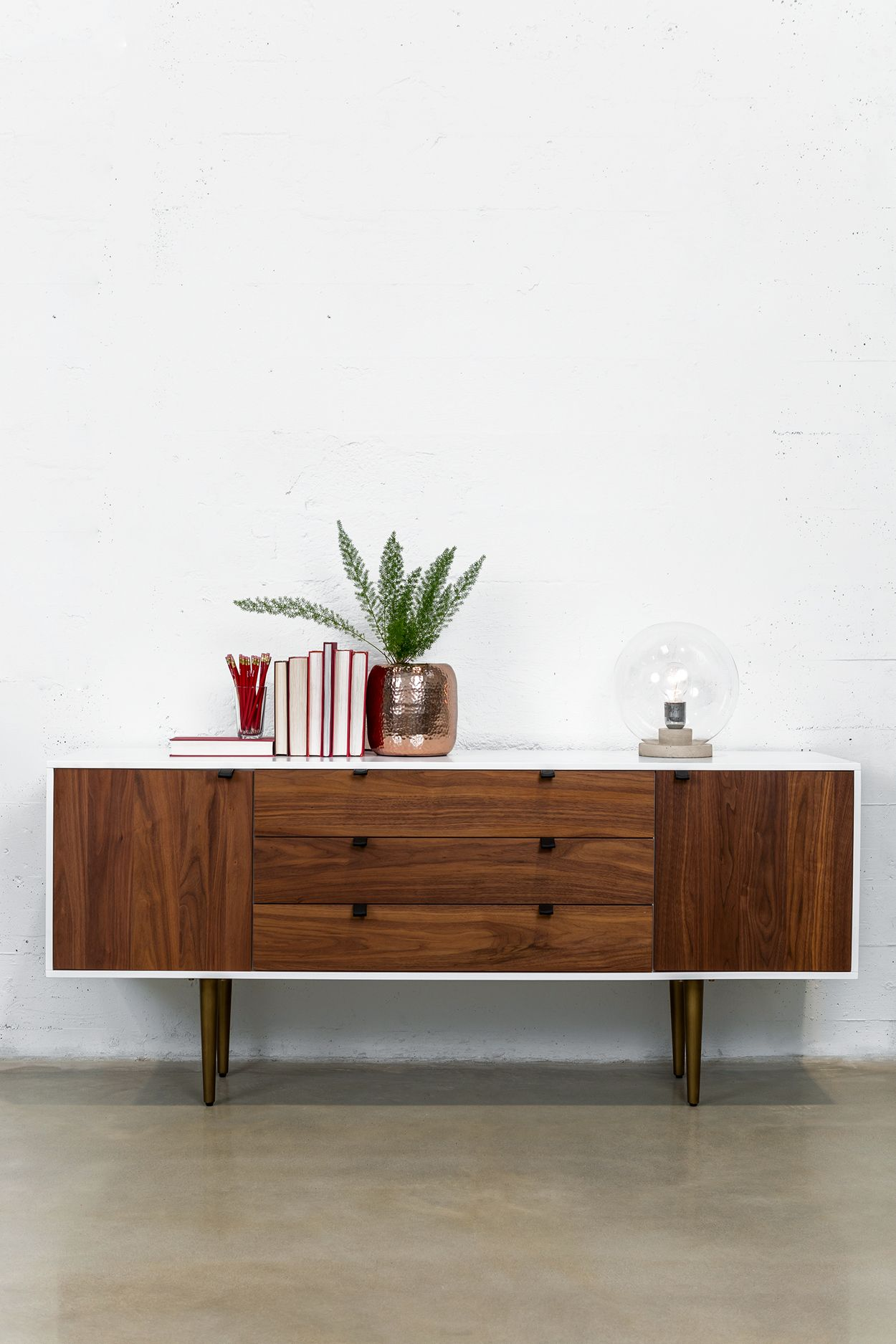 Best Envelo White Walnut Sideboard Furniture All Modern 640 x 480