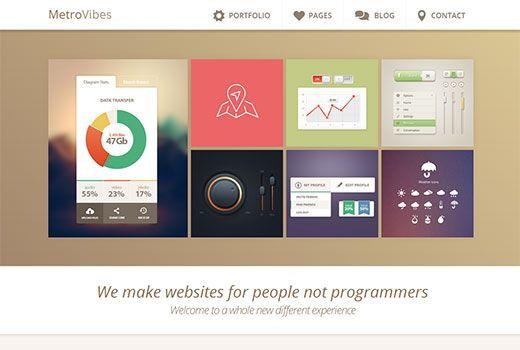 responsive wordpress theme. | Lovely Wordpress Templates | Pinterest